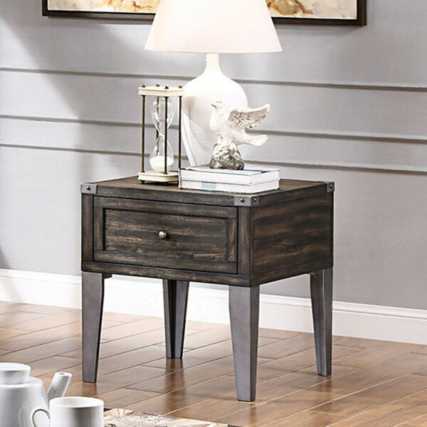 Catarina End Table with Storage by Foundry Select Foundry Select