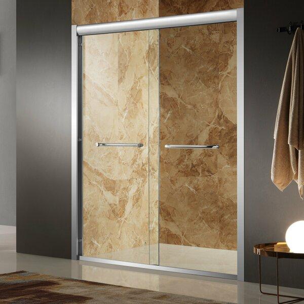 Pharaoh 60 x 72 Single Sliding Framed Shower Door by ANZZI