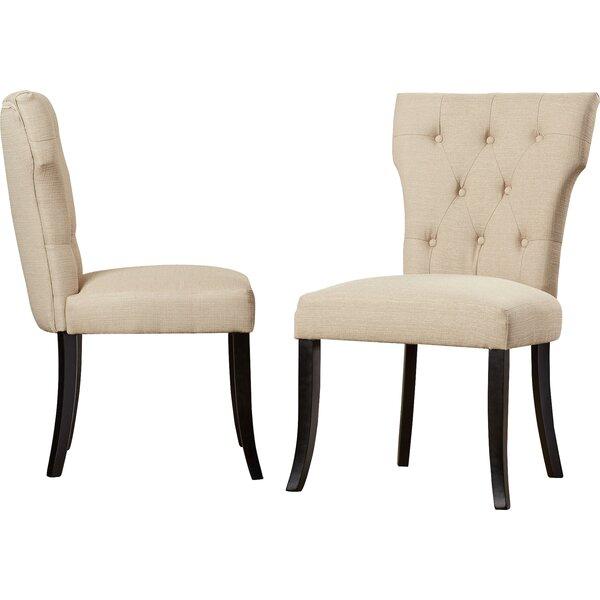 Vangilder Upholstered Dining Chair (Set of 2) by Brayden Studio