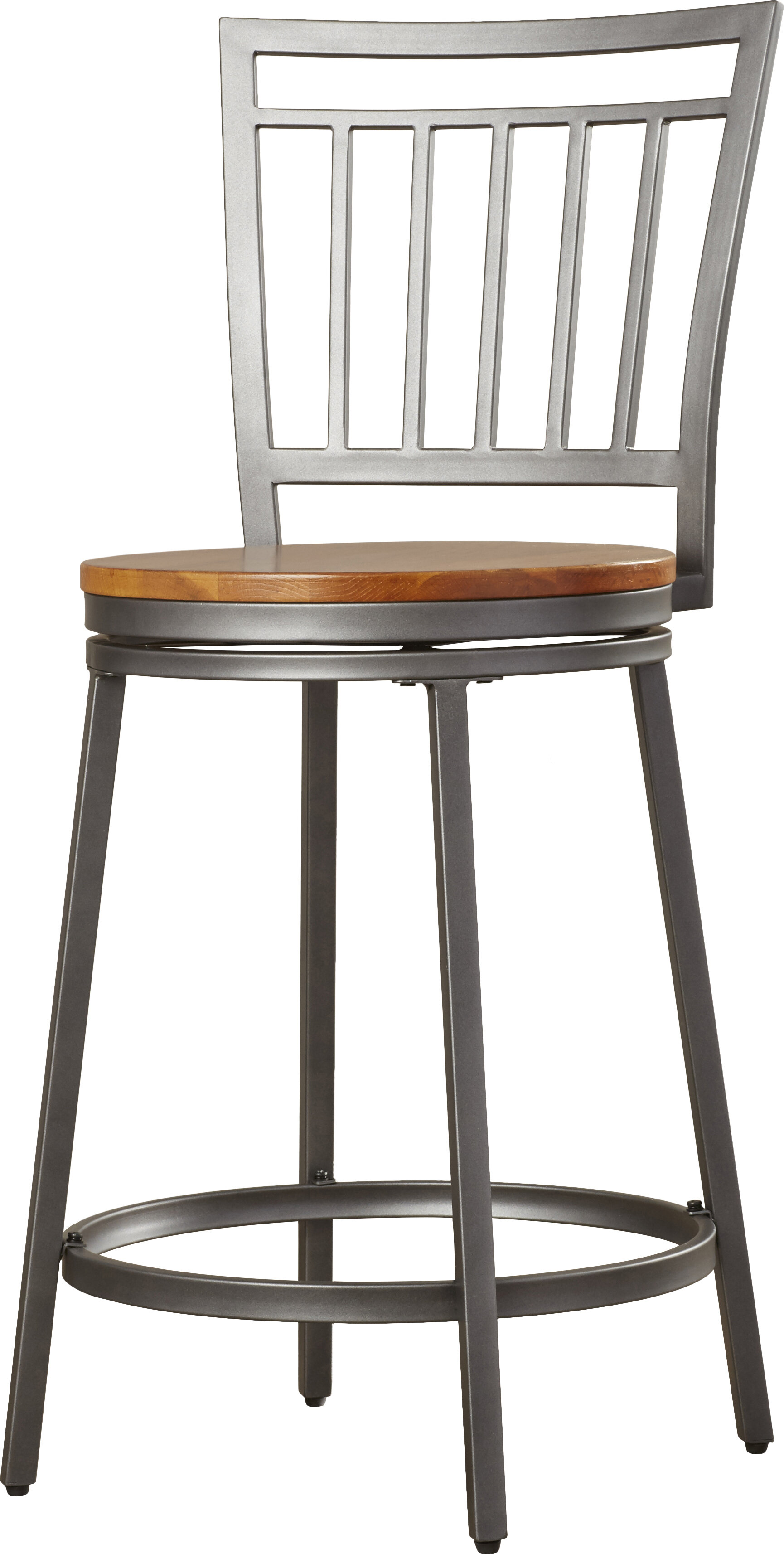 Wrought Studio Pitts 25 Swivel Bar Stool Reviews Wayfair
