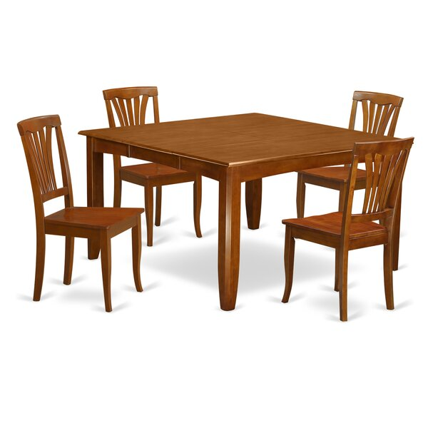 Teressa 5 Piece Dining Set by Alcott Hill Alcott Hill