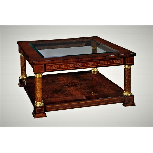 Orpheus Coffee Table With Tray Top By Astoria Grand
