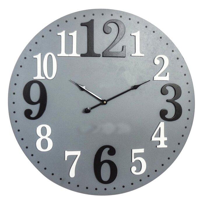 Oversized Giardina Midcentury Modern 23 6 Wall Clock