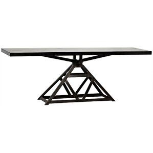 Parker Metal Console Table by Noir