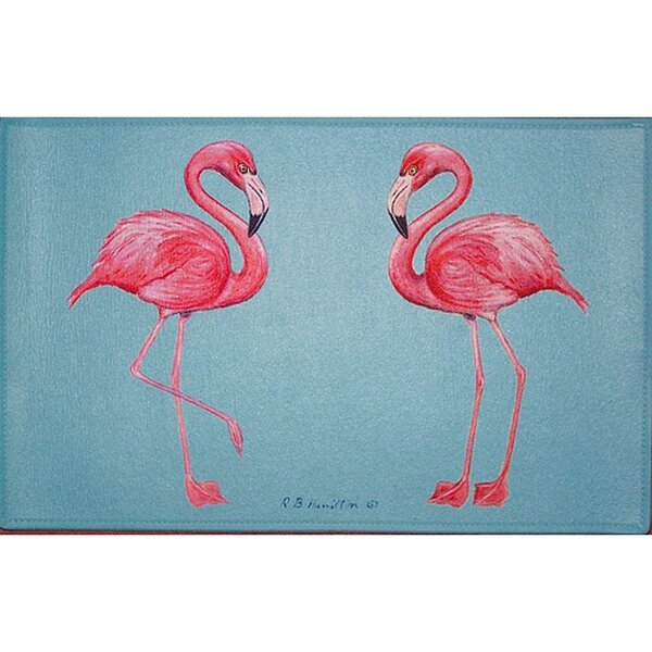 Flamingo Placemat (Set of 4) by Betsy Drake Interiors