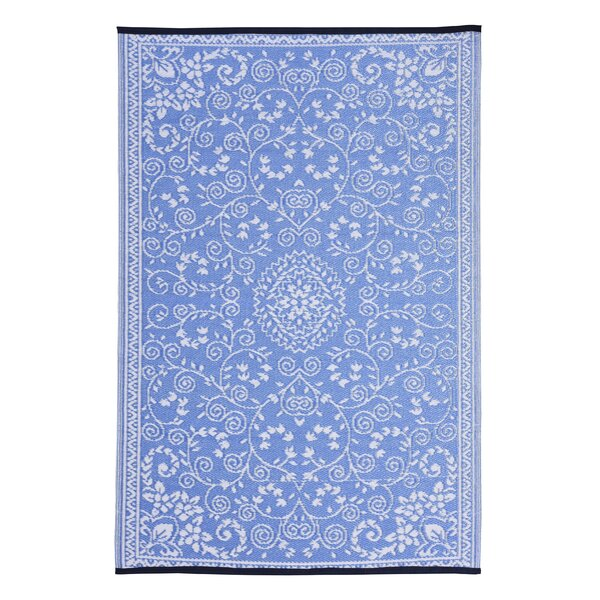 Walden Classic Blue Area Rug by Charlton Home
