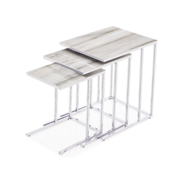 Patio Furniture Midtown 3 Piece Nesting Tables