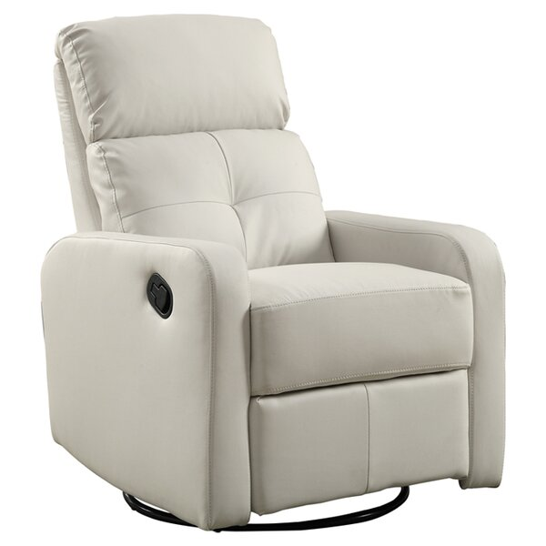 Manual Swivel Glider Recliner by Monarch Specialties Inc.Manual Swivel Glider Recliner by Monarch Specialties Inc.