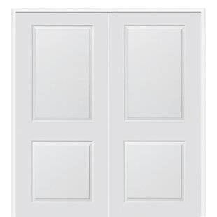 Etonnant Carrara Smooth Surface Solid Panelled Prehung Interior Double Door