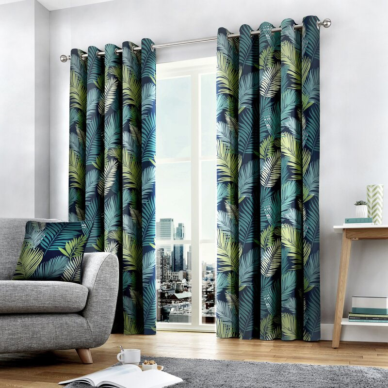 Sandcliff Eyelet Room Darkening Curtains by Bay Isle Home