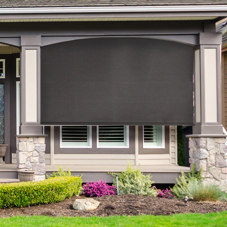 Store plafond exterieur pour veranda à canisse pour toit de veranda