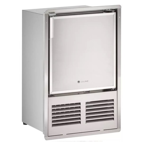 Marine Series Reversible 16 23 lb. Daily Production Built-in Ice Maker by U-Line