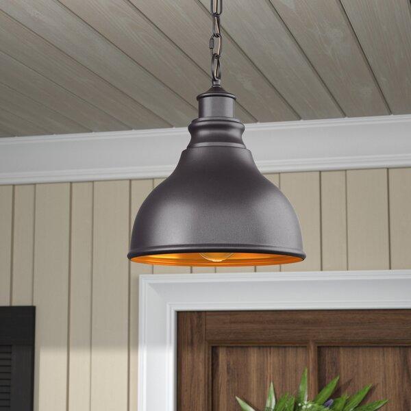 Lavardin 1-Light Outdoor Hanging Lantern by Laurel Foundry Modern Farmhouse