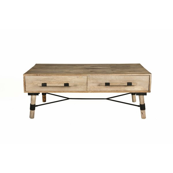 Favorinus Linked Coffee Table by Wrought Studio