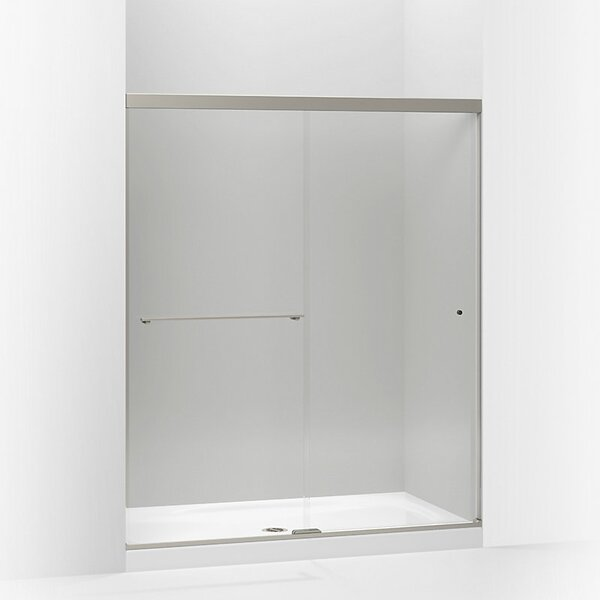 Revel 59.63'' x 76'' Double Sliding Shower Door with CleanCoat® Technology by Kohler