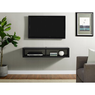 wall mounted tv frame wayfair. Black Bedroom Furniture Sets. Home Design Ideas