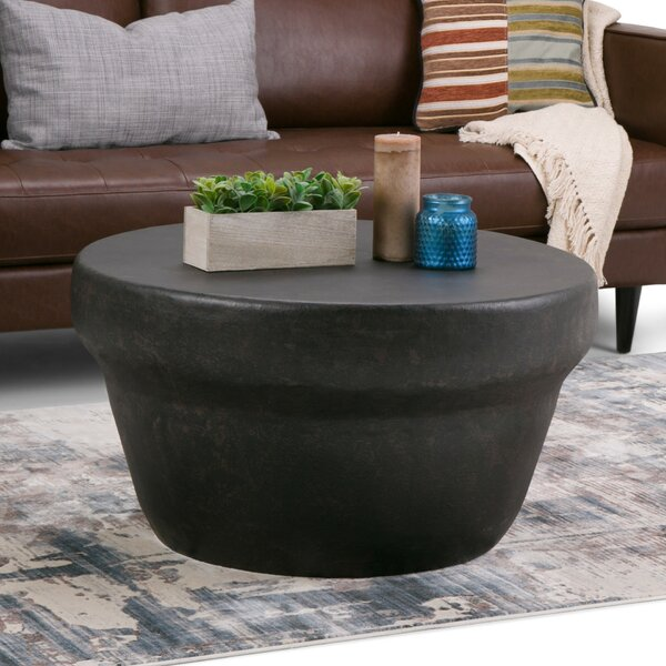 Garvy Metal Coffee Table by Simpli Home