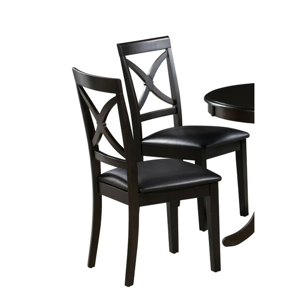 Reilly Upholstered Dining Chair (Set of 2) by Alcott Hill
