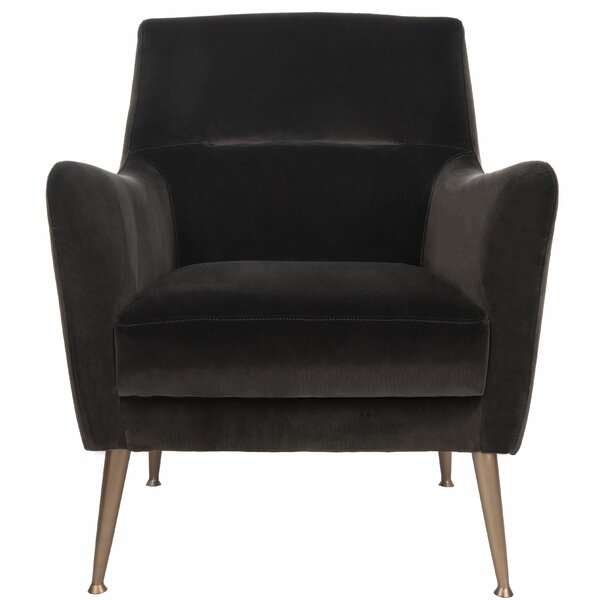 Louvenia Velvet Armchair By Everly Quinn Looking for