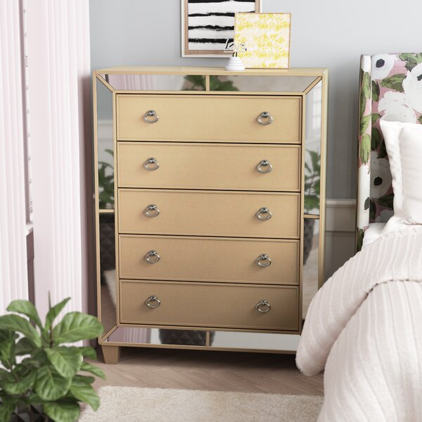 Alasdair 5 Drawer Chest by Willa Arlo Interiors