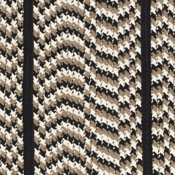 Georgina Ivory/Black Contemporary Area Rug by August Grove