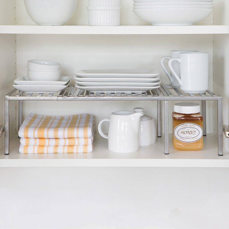 Rebrilliant Expandable Kitchen Cabinet Helper Shelf Reviews