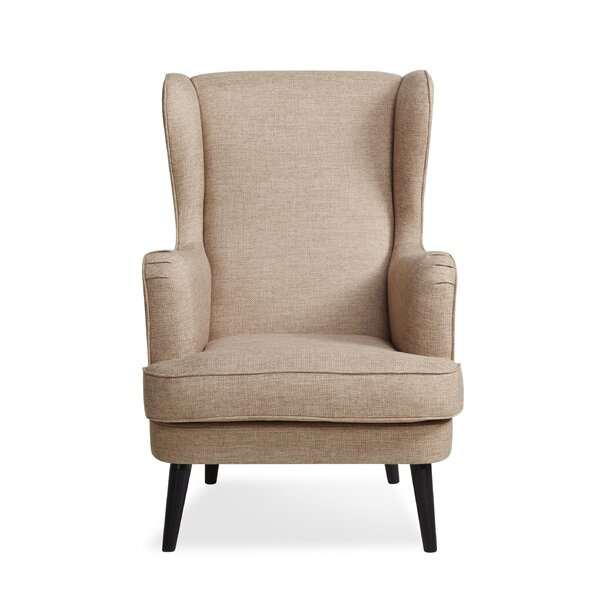 Guillame Wingback Chair by Darby Home Co
