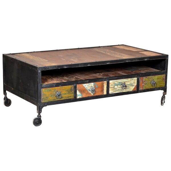 Desirae 4 Drawer Coffee Table by Bloomsbury Market