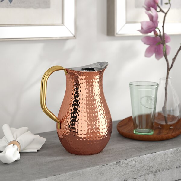 Copper Serving Hammered Pitcher by Birch Lane™