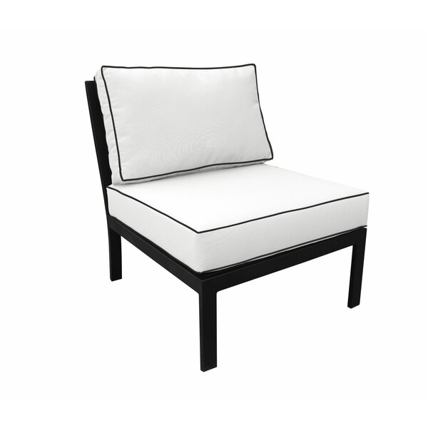 Madison Patio Chair With Cushion By Kathy Ireland Homes & Gardens By TK Classics