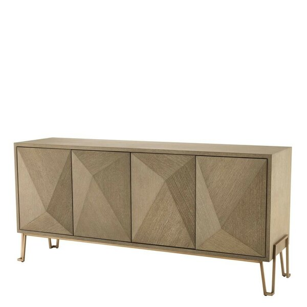 Highland Mid-Century Modern Media Sideboard by Eichholtz