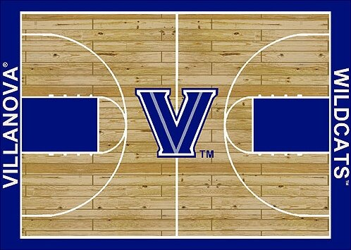 NCAA College Home Court Villanova Novelty Rug by My Team by Milliken