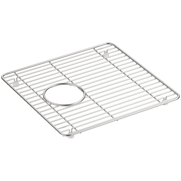 Cairn™ Stainless Steel Sink Rack, 13-3/4 x 14, for K-8199 by Kohler