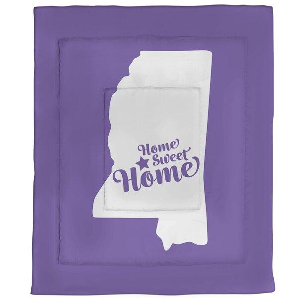 Home Sweet Jackson Single Reversible Comforter