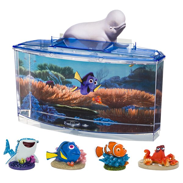 0.7 Gallon Disney® Pixar Finding Dory Betta Aquarium Kit by Penn Plax