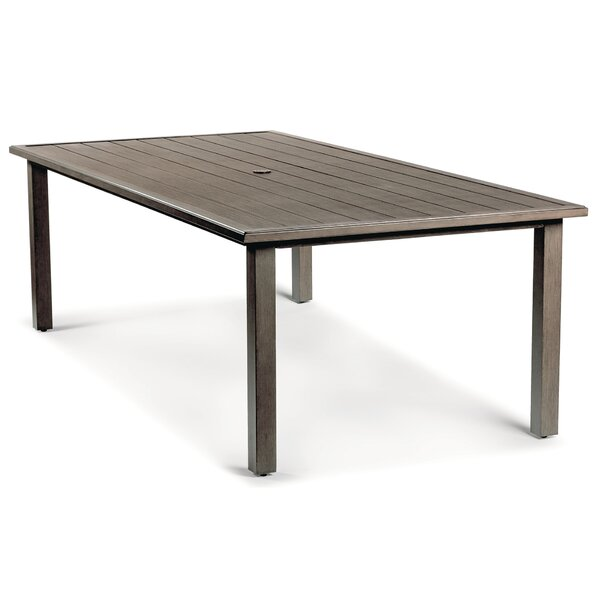 Horizon Aluminum Dining Table by Eddie Bauer