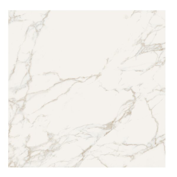 Marmi Pol 32 x 32 Porcelain Field Tile in Staturio Gold by Casa Classica