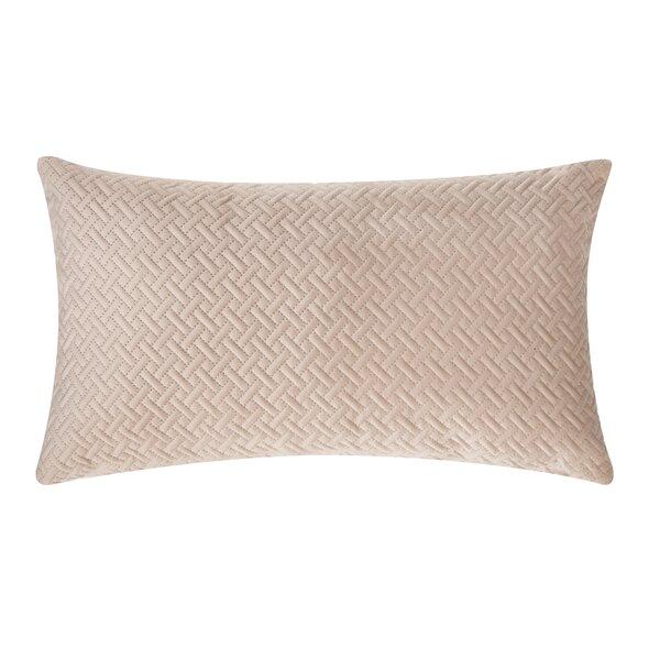 Beneduce Velvet Lumbar Pillow by Charlton Home