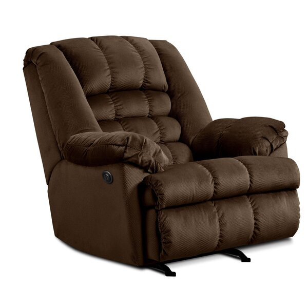 Cabela Power Rocker Recliner by Simmons Upholstery [Red Barrel Studio]