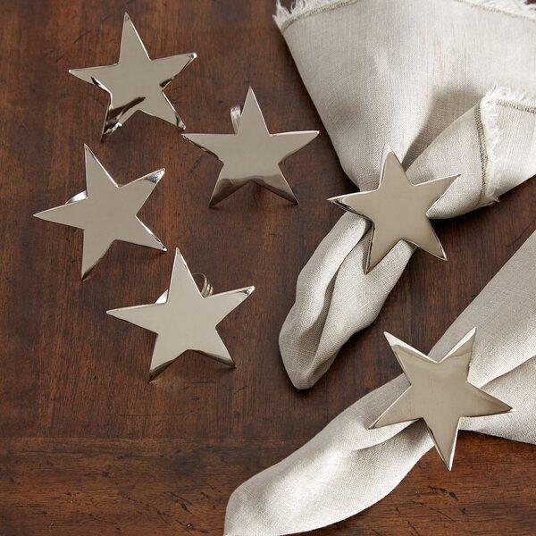 Star Napkin Ring (Set of 4) by Birch Lane™