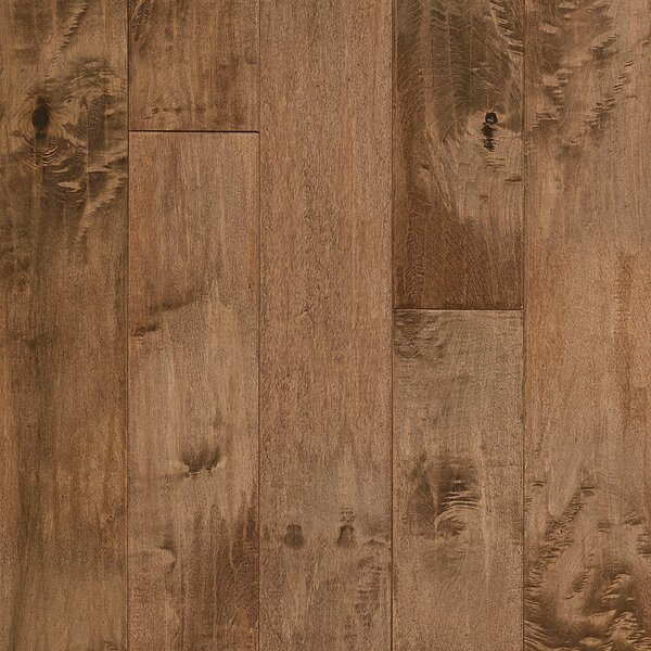 American 5 Solid Maple Hardwood Flooring in Gold Rush by Armstrong Flooring