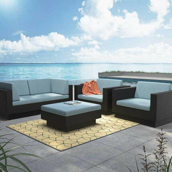 Chretien 5 Piece Sofa Set with Cushions by Brayden Studio