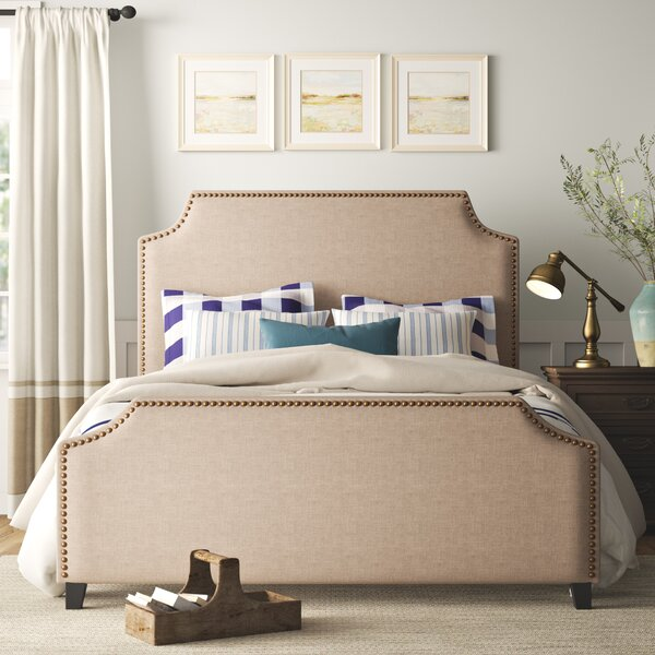 Parker Upholstered Standard Bed by Birch Lane™ Heritage
