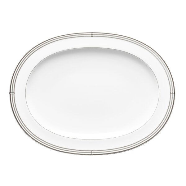 Aidan 14 Oval Bone China Platter by Noritake
