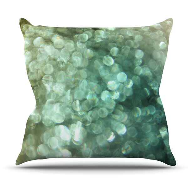Sparkle by Debbra Obertanec Outdoor Throw Pillow by East Urban Home