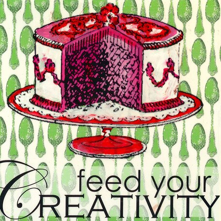 Feed Your Creativity Canvas Art by Oopsy Daisy