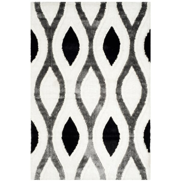 Callensburg Ivory/Gray Area Rug by Latitude Run