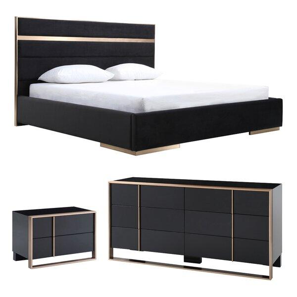 Ayaan Platform Configurable Bedroom Set by Willa Arlo Interiors