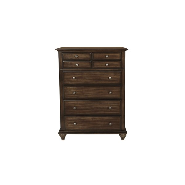 Gabriele 5 Drawer Chest by August Grove