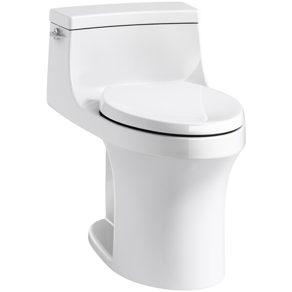 San Souci Souci Comfort Height 1.28 GPF Elongated One-Piece Toilet by Kohler